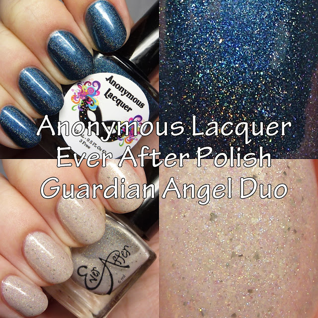 Anonymous Lacquer and Ever After Polish Guardian Angel Duo