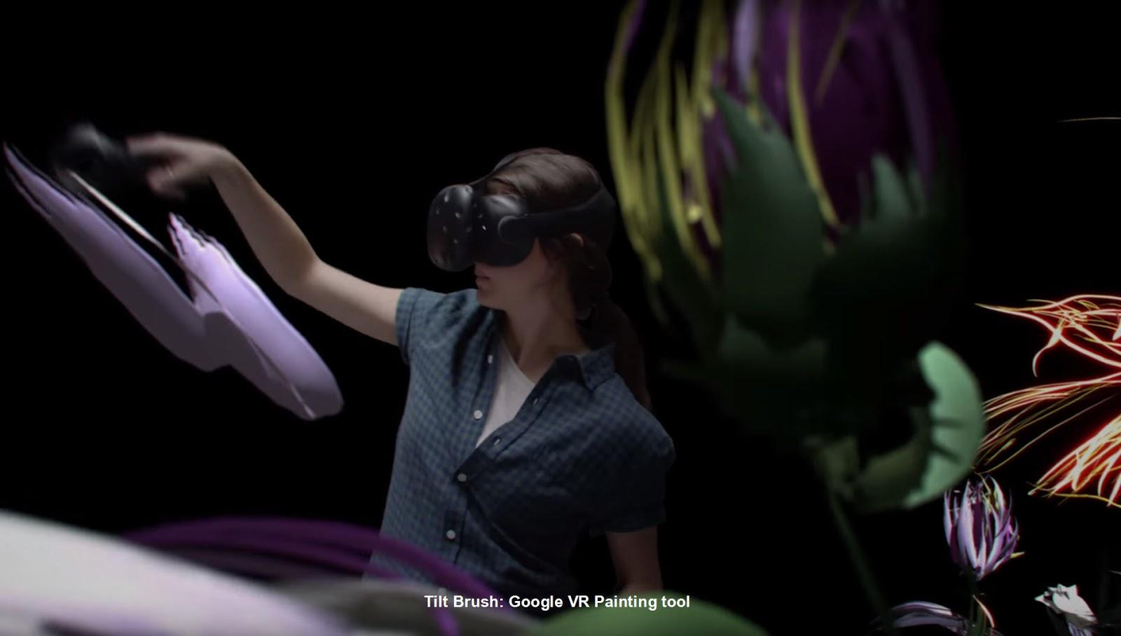 Tilt Brush: Google VR Painting program | CG Daily News