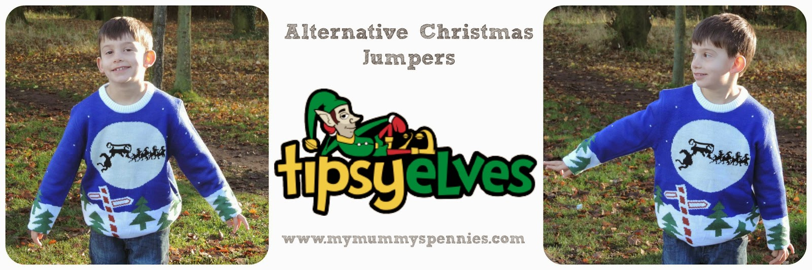 Alternative Christmas Jumpers from Tipsy Elves