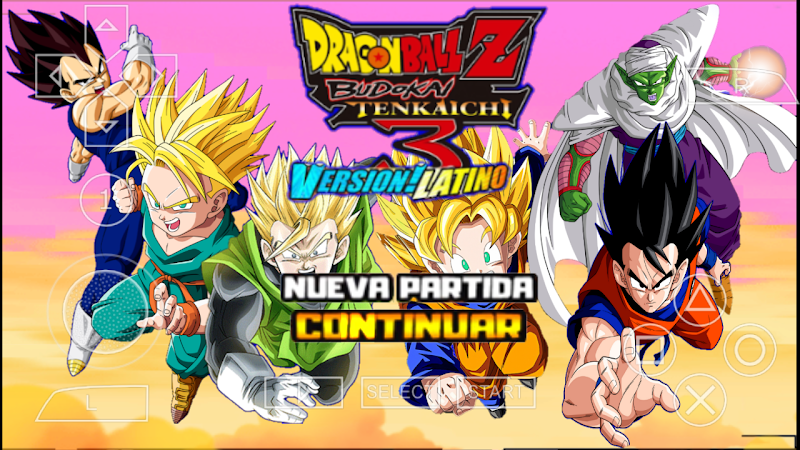 Download Dragon Ball Z Budokai Tenkaichi 3 Android Game