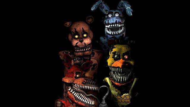 creepy fnaf wallpaper