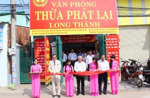 Thành lập VP Thừa phát lại Bình Thuận