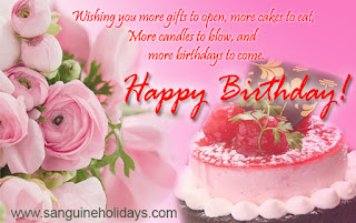 Happy Birthday Greeting for Friend