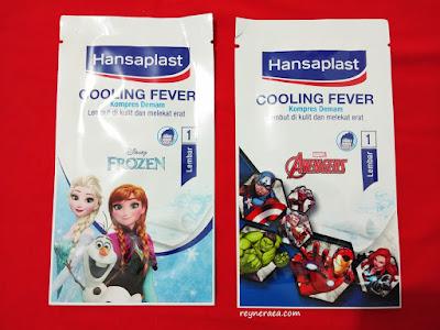 hansaplast cooling fever disney