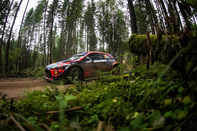 Hyundai i20 World Rally Car Estonia