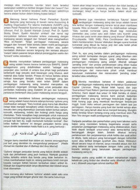 Fatwa malaysia tentang forex