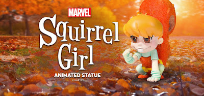 Animated Marvel Squirrel Girl Mini Statue by Skottie Young & Gentle Giant