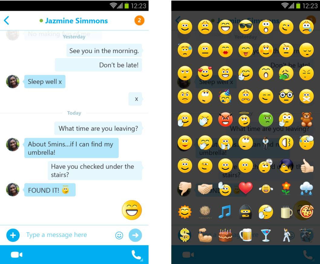 Emojis For Android App