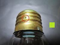 Loch: amzdeal® Vintage Glühlampe Glühbirne T03 (40W, E27, 220-240V)
