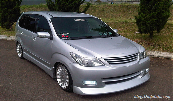 Avanza Car Modification Joss Make You Drool