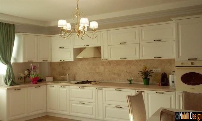 Amenajari interioare bucatarii clasice - Amenajare bucatarie clasica casa Constanta
