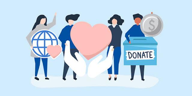 Donasi korban bencana alam