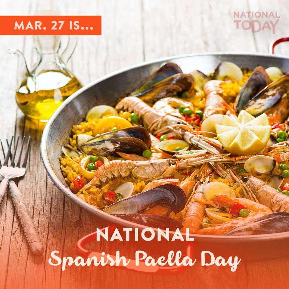 National Spanish Paella Day Wishes