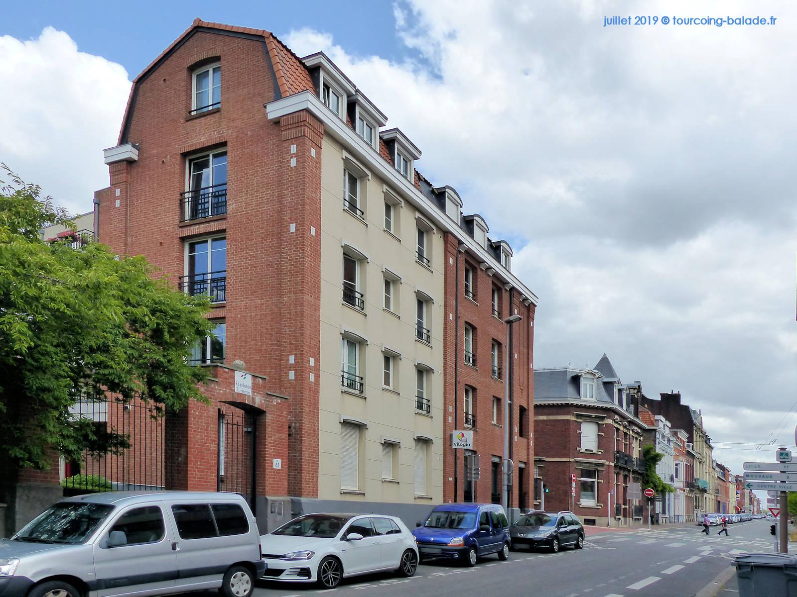 Rue de Turenne, Résidence, Tourcoing 2019