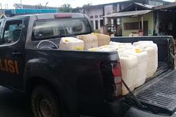 Disperindagkop Pulau Morotai Ungkap Penjualan 17 Galon Minyak Tanah Ilegal