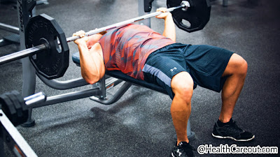 Bench Press to make a strong and wide chest healthcareout.com