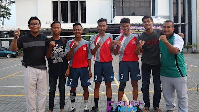 Siswa SMA N 10 Purworejo Menjuarai Porkab 2019 Cabang Sepak Takraw, Mewakili Kecamatan Pituruh