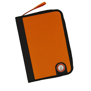 A5 Ringbinder Die case: Orange