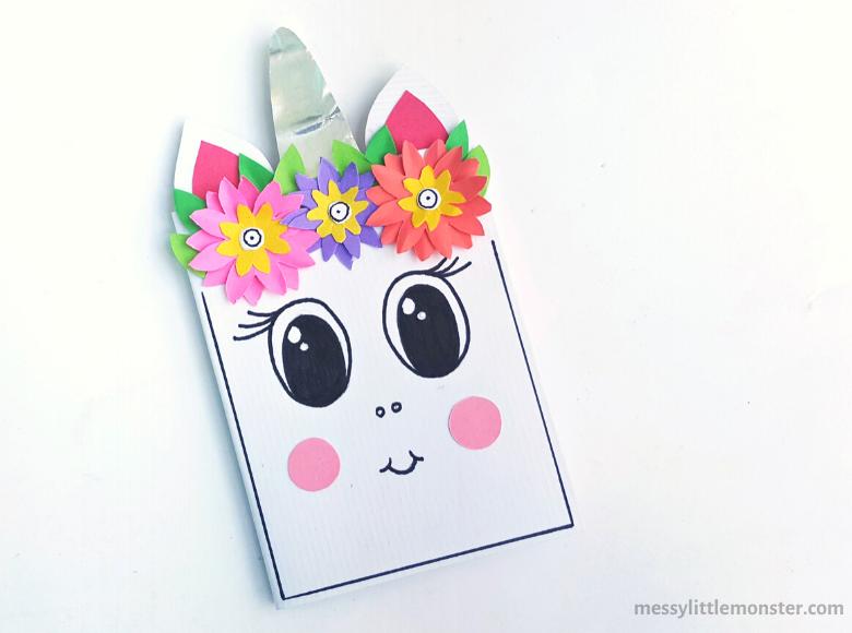 easy unicorn craft for kids