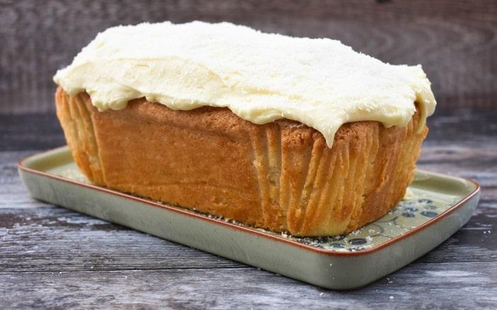 Easy Vegan Coconut Loaf Cake