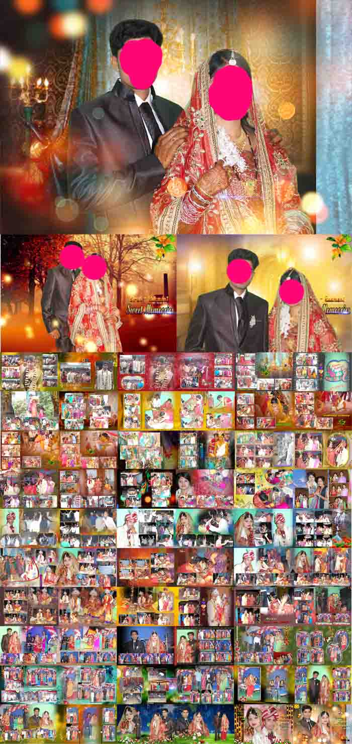12 X 36 Karizma Wedding Album Design