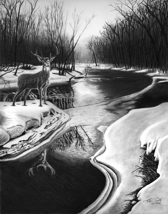 Рисунки карандашом. Peter Piatt 9