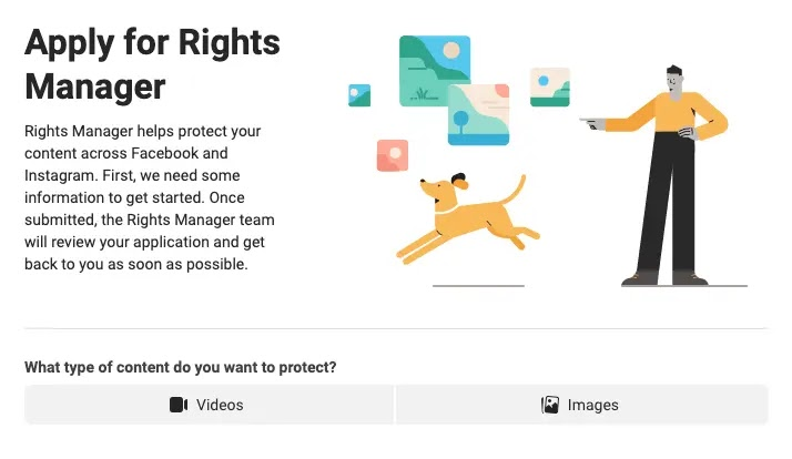 كيفية المطالبة بملكية الصور على Facebook و Instagram