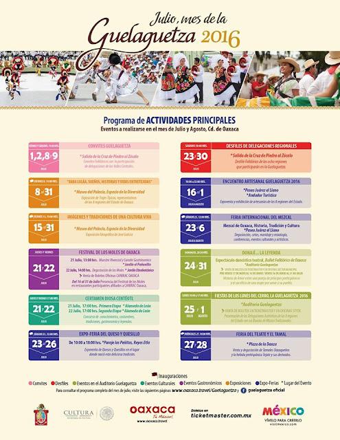 programa guelaguetza 2016