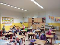 Prvňáci ve škole