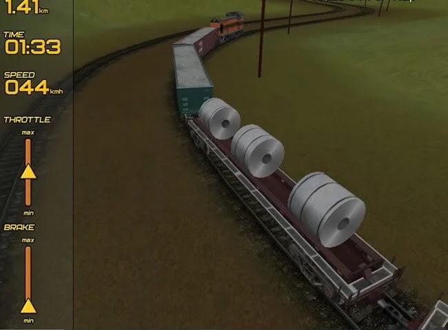 تحميل لعبة قيادة القطارات Freight Train Simulator للكمبيوتر برابط مباشر