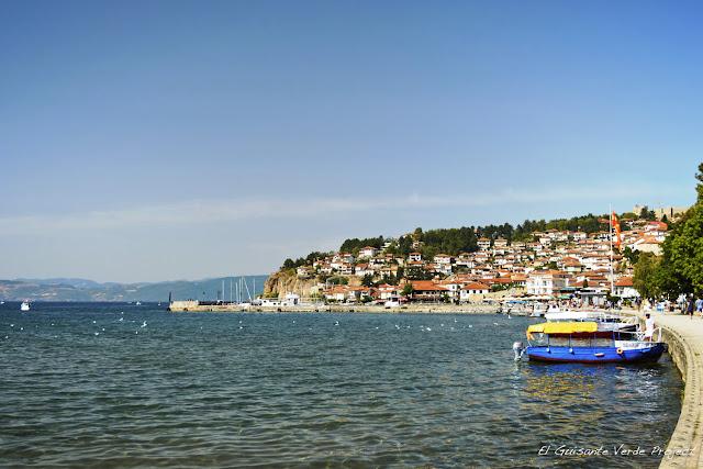 Vista de Ohrid - Macedonia por El Guisante Verde Project