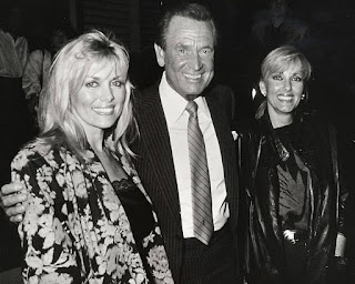 Bob Barker with Dian Parkinson and their friend