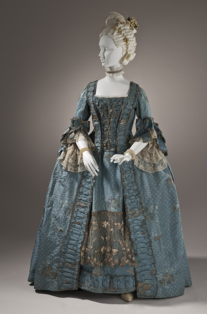 18th Century - Robe a la Francais  - Marie Antoinette Costume - HandBound Costumes