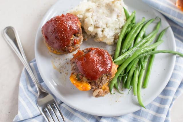 Mini Meatloaf #dinner #recipes