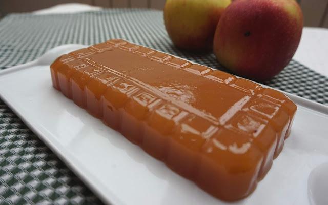 Dulce de manzana receta natural, casera y fácil.