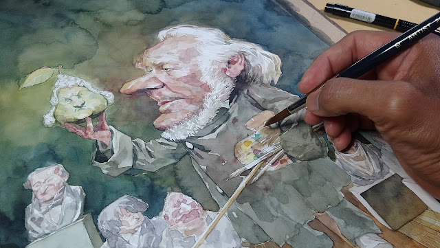 Artista Ilustrador venezolano - Leonardo Rodríguez