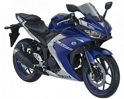 Yamaha R25 Racing Blue