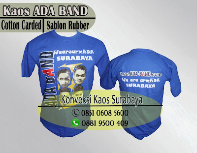 kaos oblong cotton carded
