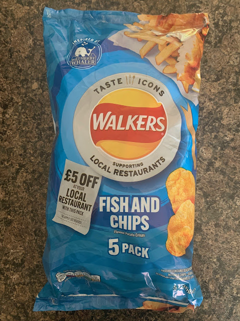 Walkers Fish and Chips Crisps
