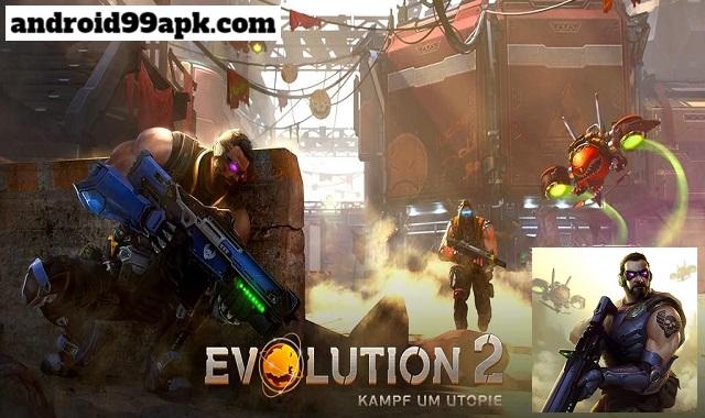 لعبة Evolution 2: Battle for Utopia مهكرة كاملة (بحجم 415 MB) للأندرويد