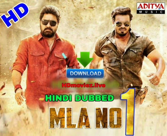 MLA No 1 Hindi Dubbed Full Movie