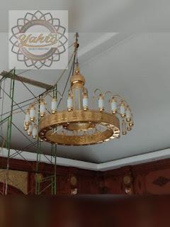 Kerajinan Lampu Nabawi