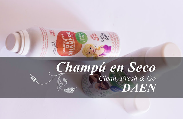 Champús en seco de Daen. ¡Made in Spain!