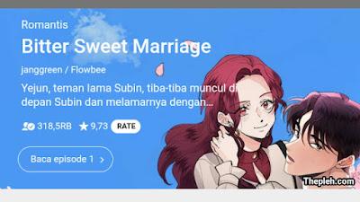 Bitter Sweet Marriage Webtoon