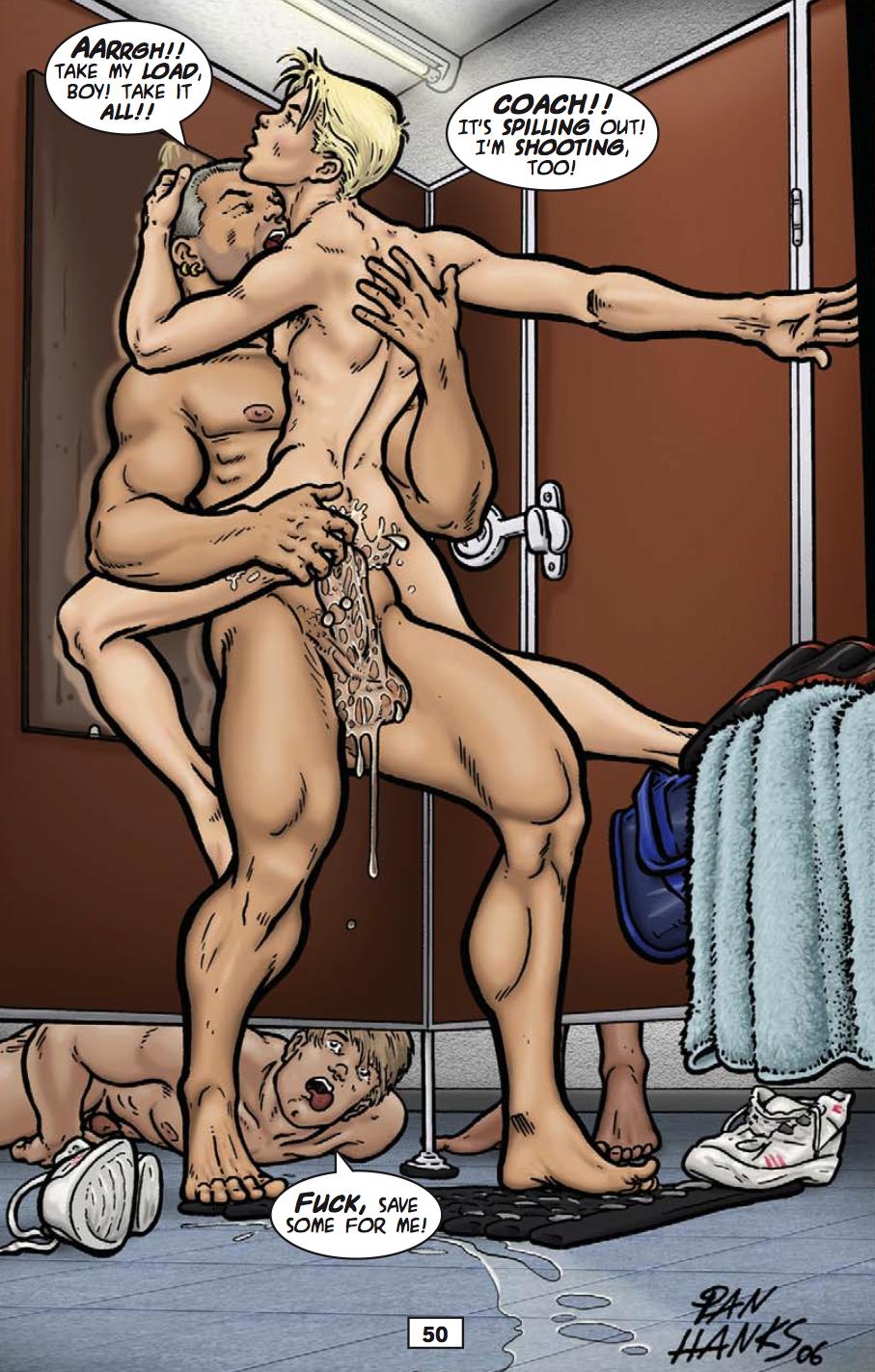 Порно комиксы про геев с переводом
