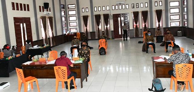 Penerimaan Taruna AKPOL dan Tamtama, Polres Aceh Timur Laksanakan Rikmin Awal