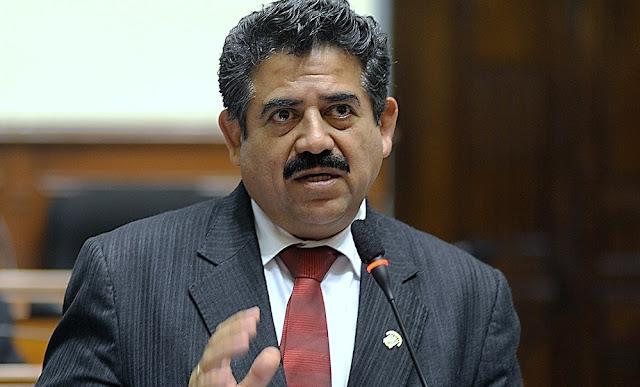 Manuel Merino, presidente del Congreso de la República