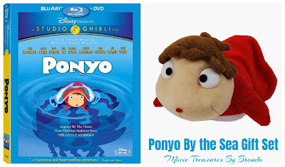 Ponyo by the Cliff on the Sea Gift Set