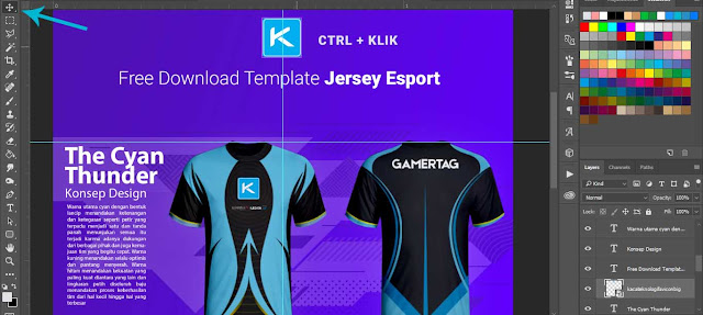Free Download template jersey gaming psd gratis, Free download mockup jersey esport cdr gratis, free download Mockup Template Jersey Esport Gaming Depan Belakang PSD keren