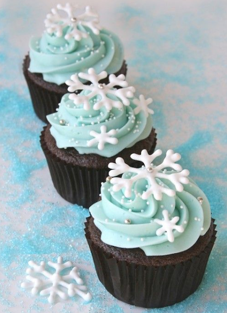 Cupcakes Merry Christmas Images